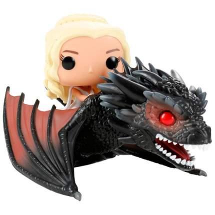 Коллекционная фигурка Funko POP Rides: Game of Thrones: Drogon & Daenerys