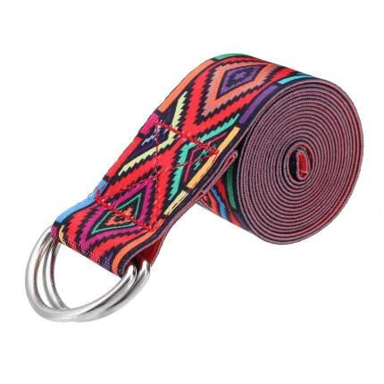 Ремень для йоги Atlanterra AT-BLT1-02, красный