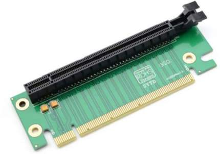 Райзер-адаптер GSMIN SK19 PCI-E 16x (M) - 16x (F) 90° угловой