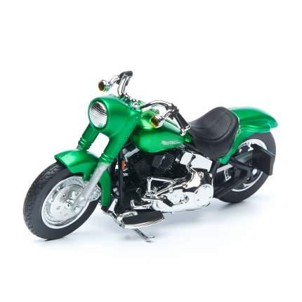 Maisto мотоцикл 1:18 Harley Davidson 2000 FLSTF Street Stalker, зеленый 34360/7
