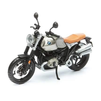 Maisto Мотоцикл Motorcycles - BMW R nineT Scrambler, 1:12, серебристый 31101