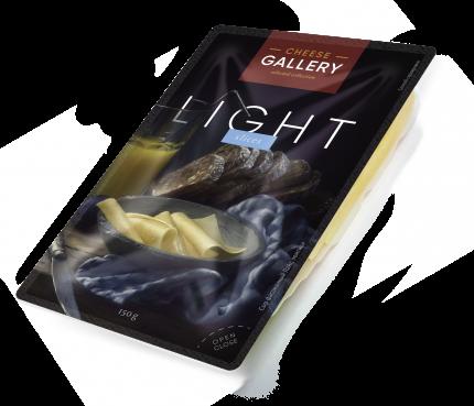 Сыр полутвердый Cheese Gallery Light 20% нарезка 150 г