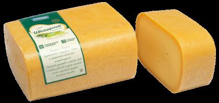 Сыр твердый Киприно Швейцарский 50% ~ 1 кг