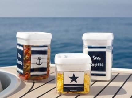 Яхтенная посуда. Набор емкостей для хранения Marine Business Sea Lovers (10266055)