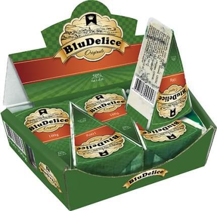 Сыр мягкий BluDelice с голубой плесенью 56% 100 г бзмж