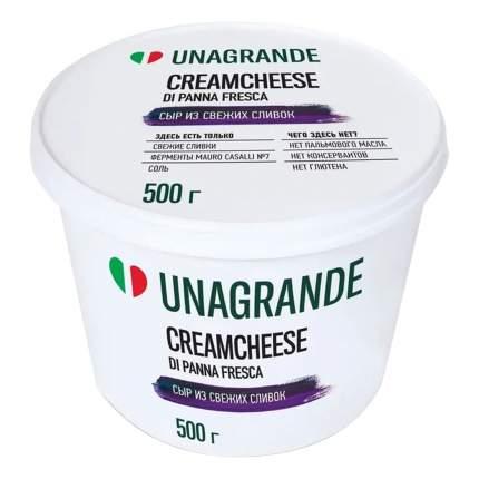 Творожный сыр Unagrande Кремчиз Professional 70% 500 г бзмж