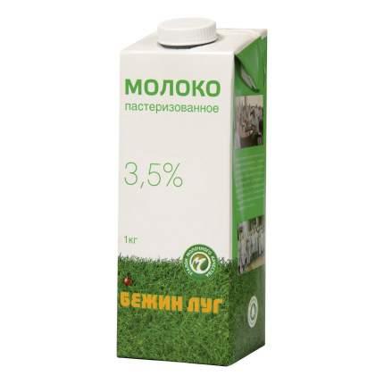 Молоко Бежин луг пастеризованное 3,5% бзмж 1 л