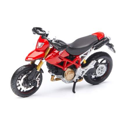 Maisto Мотоцикл Ducati HYPEMOTARD 1100S 1:18, красный 39300/18