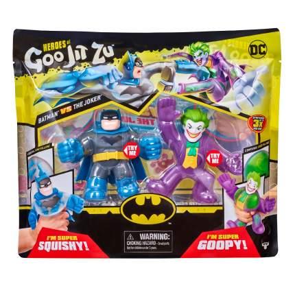 Тянущаяся фигурка GooJitZu набор, 2 фигурки Бэтмен и Джокер