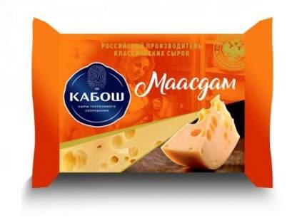 Сыр полутвердый Кабош Маасдам 45% 250 г бзмж