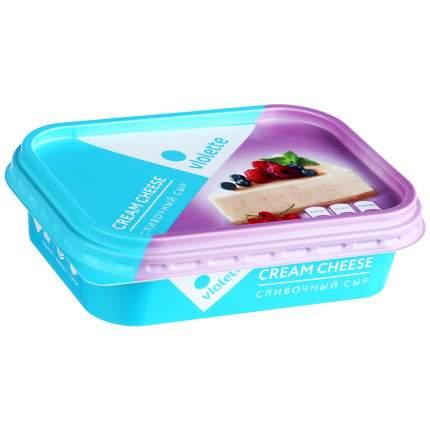 Творожный сыр Violette сливочный 60% 180 г бзмж