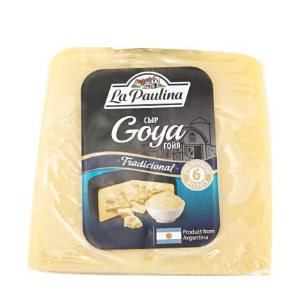 Сыр твердый La Paulina Goya 40% ~350 г бзмж