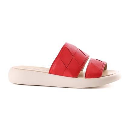 Сабо женские Shoes Market 648-1713 красные 38 RU