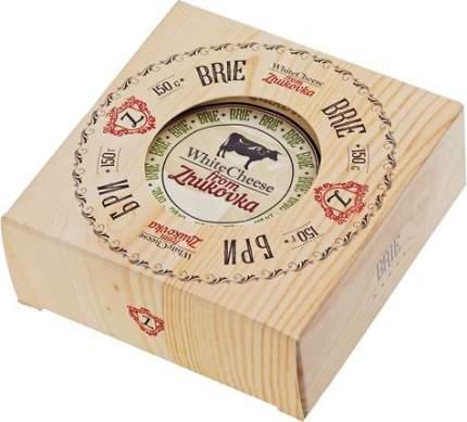Сыр мягкий White Cheese from Zhukovka Бри с белой плесенью 60% 150 г бзмж