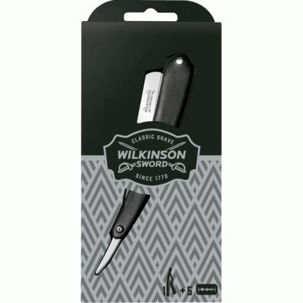 Опасная бритва Wilkinson Sword Vintage Vintage с комплектом лезвий (5 шт.)