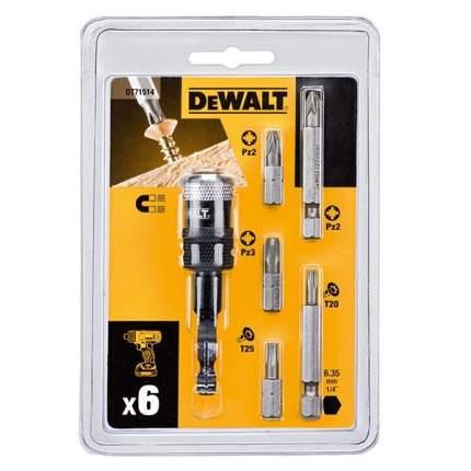 Набор бит DEWALT HIGH PERFORMANCE DT71514 6 предметов