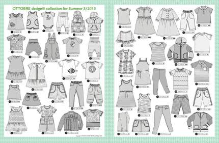 Журнал OTTOBRE design® Kids 3/2013
