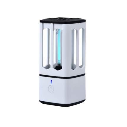 Портативная бактерицидная ультрафиолетовая лампа UVTEK-P05 белая