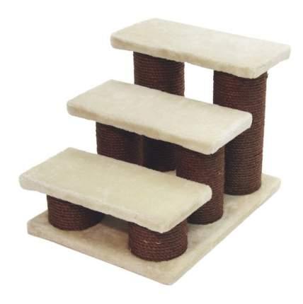 Лесенка для собак и кошек Kerble 45х35х34 см, 82410, дерево, коричневый, белый