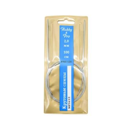 Спицы Hobby&Pro круговые металл 100см, 2,0мм  941120
