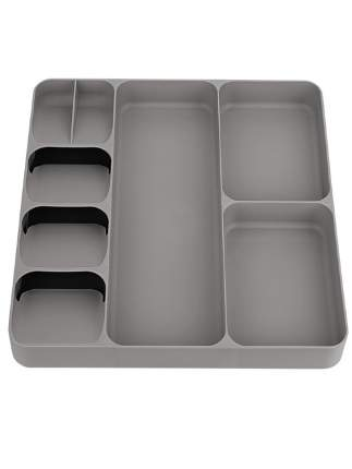Лоток для столовых приборов Litzen Case, серый