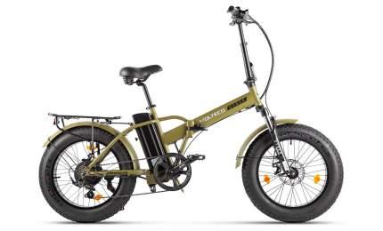 Электровелосипед Volteco Cyber 2021 (2021) (Коричневый)