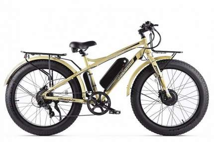 Электровелосипед Volteco Bigcat Dual New  (2021) (Хаки)
