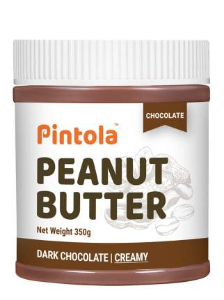 Кремовая арахисовая паста с шоколадом Pintola Creamy Chocolate, 350 гр
