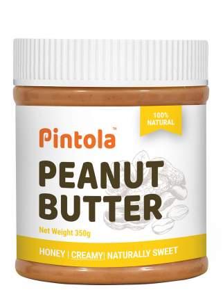 Кремовая арахисовая паста с мёдом Pintola Honey Creamy, 350 гр