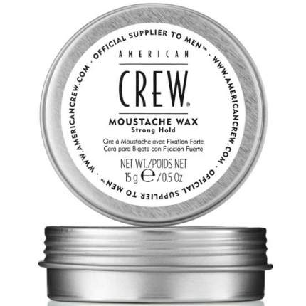 Стойкий воск для усов American Crew Moustache Wax сильной фиксации 15 гр