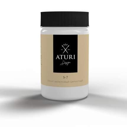 Грунт акриловый бархатный Aturi Design цвет: белый