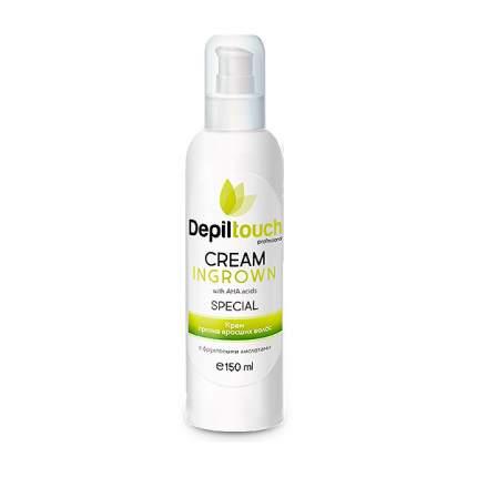 Крем против вросших волос Depiltouch Cream Ingrown с фруктовыми альфа-гидрокислотами,150мл