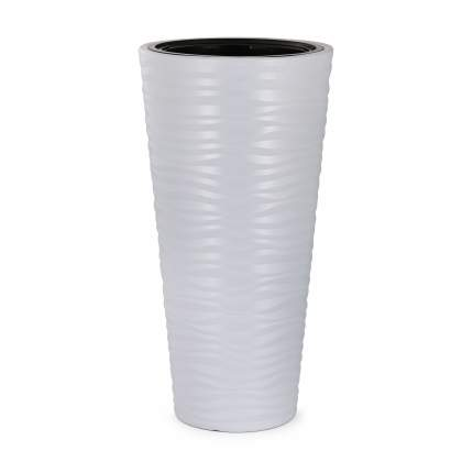 Кашпо Оазис 63л.серый, вставка 13л. М8082