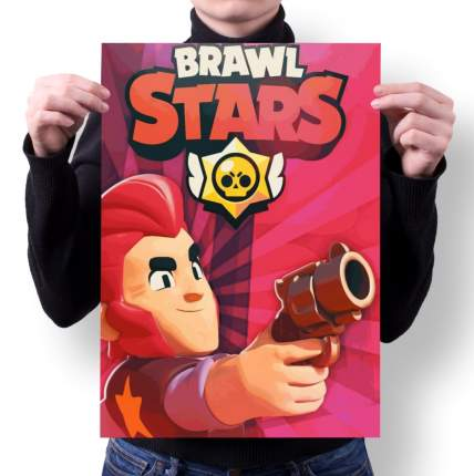 Плакат GOODbrelok BRAWL STARS 2 - А1