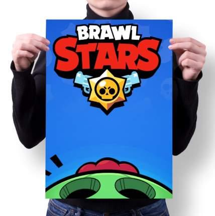 Плакат GOODbrelok BRAWL STARS 3 - А4