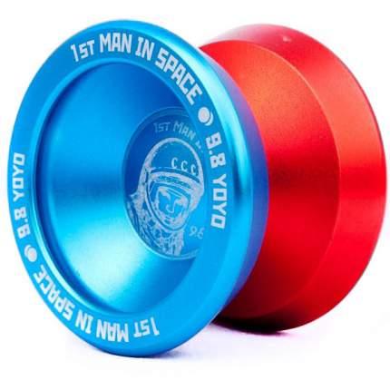 Йо-йо 9.8 1st Man in Space голубой/оранжевый
