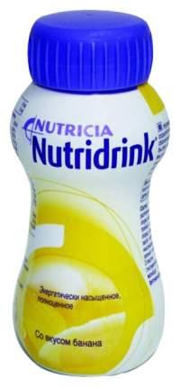 Нутридринк Смесь для энтерального питания банан 200 мл
