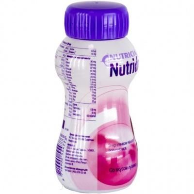Нутридринк Смесь для энтерального питания клубника тетрапак 200 мл
