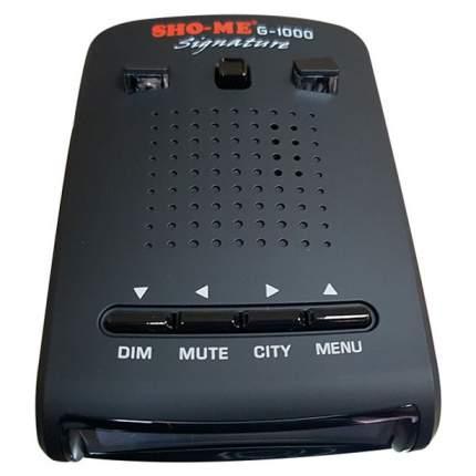 Радар-детектор SHO-ME G-1000 Signature со встроенным GPS модулем