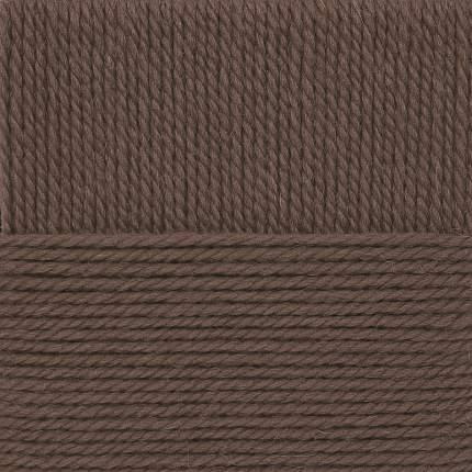 Пряжа для вязания Пехорка Народная традиция, 377 кофейный, 100 м, 100 г (10 мотков) 10 шт.