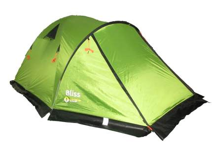 Палатка для охоты и рыбалки Crusoe Camp Bliss трехместная зеленая