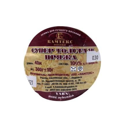 """Пряжа Камтекс """"Супер толстая"""", цвет 003 чёрный, 1 моток, арт. 554021"""