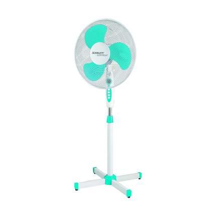 Вентилятор напольный Scarlett SC-SF111B12 white/blue