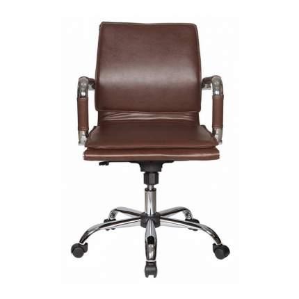 Кресло руководителя Бюрократ CH-993-LOW/BROWN, коричневый