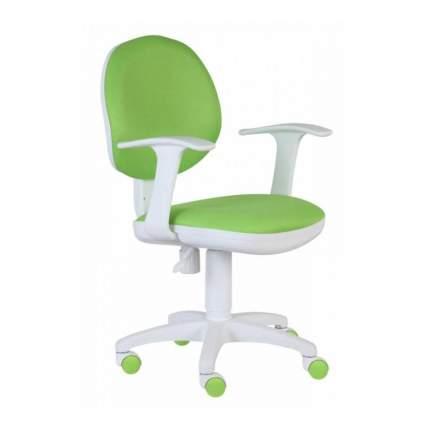 Компьютерное кресло Бюрократ CH-W356AXSN/15-118, белый/салатовый