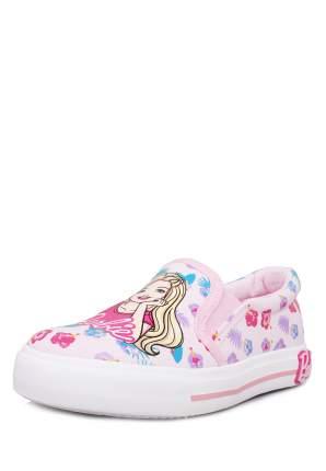 Слипоны детские Barbie, цв. розовый р.28