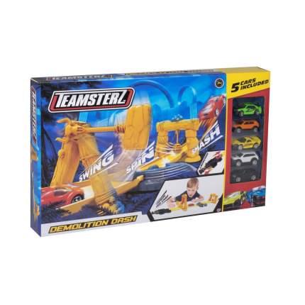 Игровой набор для детей Teamsterz Большая трасса 5 машин