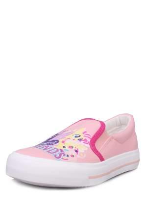 Слипоны для девочек MY LITTLE PONY, цв. розовый, р-р 28