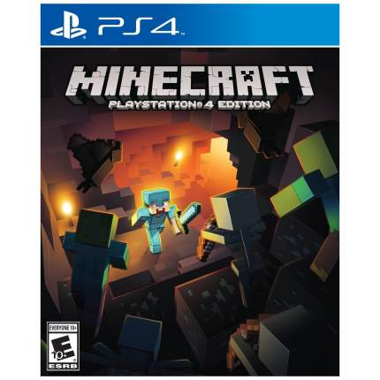 Игра Minecraft. Playstation 4 Edition для PlayStation 4
