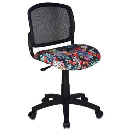 Офисное кресло Бюрократ CH-296NX/TATTOO, черный